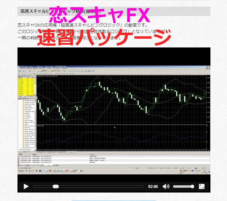 恋スキャFX速習パッケージ